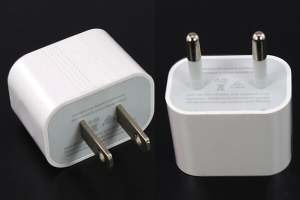 EU US Plug for iPhone 6 usb Travel Wall Adapter charger