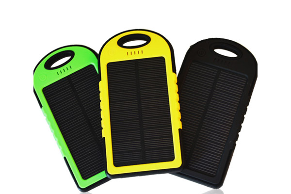 Waterproof solar power bank 50000mah
