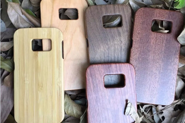 Wood case for Samsung S6/S6 Edge and other mobile phones
