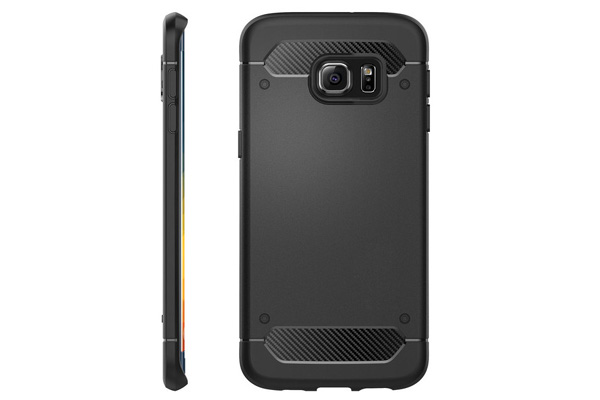 Samsung S6 edge plus carbon fiber  tpu case