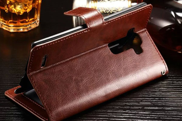 LG G4 Stylus wallet leather case