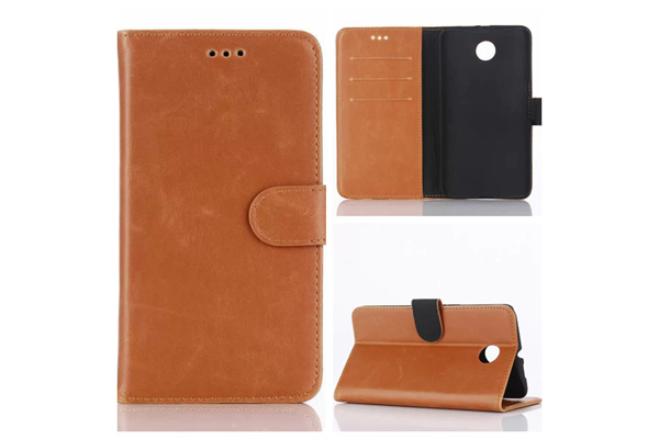 LG Nexus 6 luxury wallet leather case