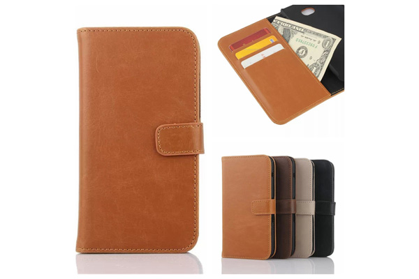 Sony E4 wallet leather case