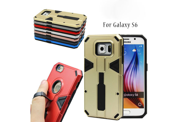 Finger ring stand function shock proof case