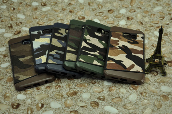 Camouflage and invisible credit card slot case