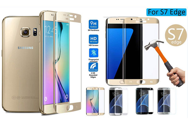 Samsung S7 S7 edge full cover tempered glass protector