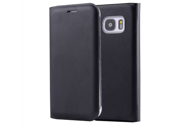 Folio style leather cover for Samsung S7 S7 edge