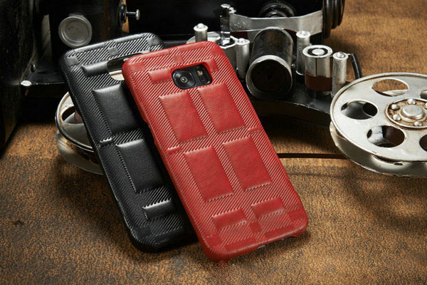 New leather back cover for Samsung Galaxy phones