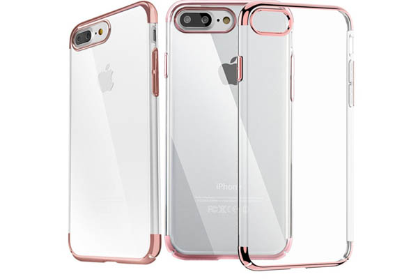 iPhone 7 fashion clear cover