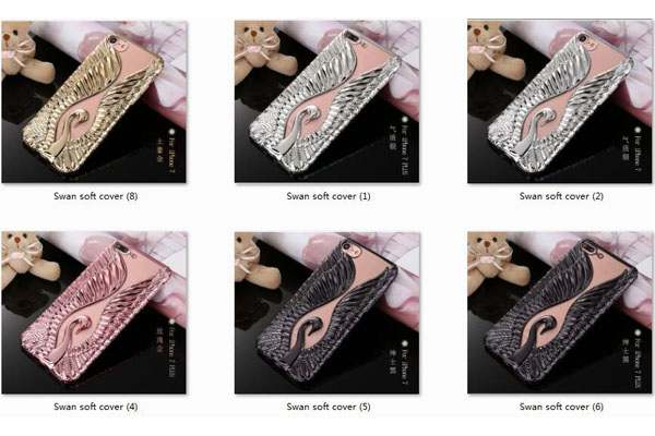 Swan design soft tpu cover