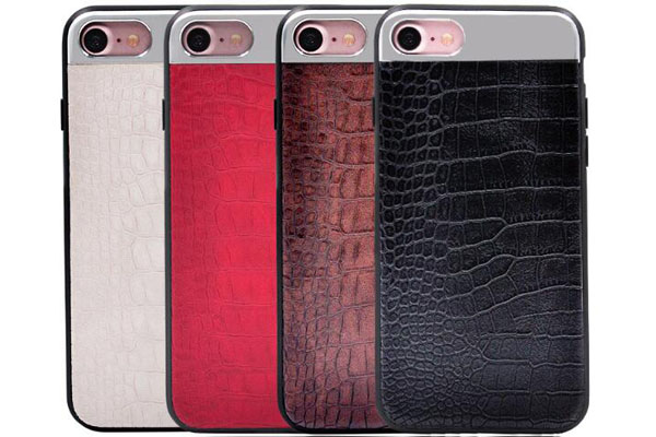 Crocodile PU TPU cover