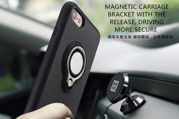 Finger ring car holder TPU soft case