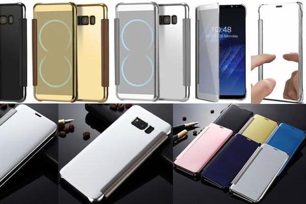 Smart mirrror case for Samsugn S8 S8 plus