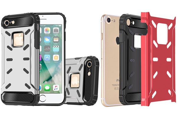 Metal + TPU shockproof case