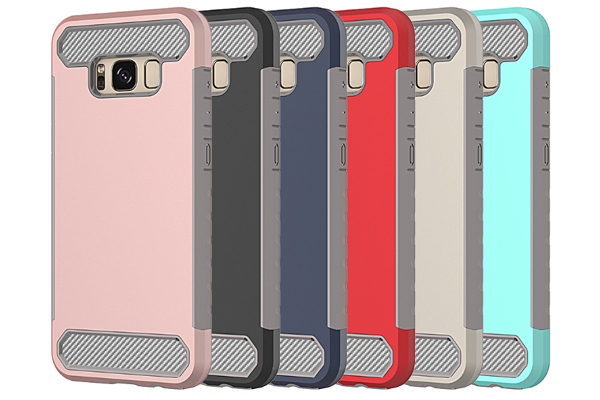S8 shockproof PC+TPU rugged cover