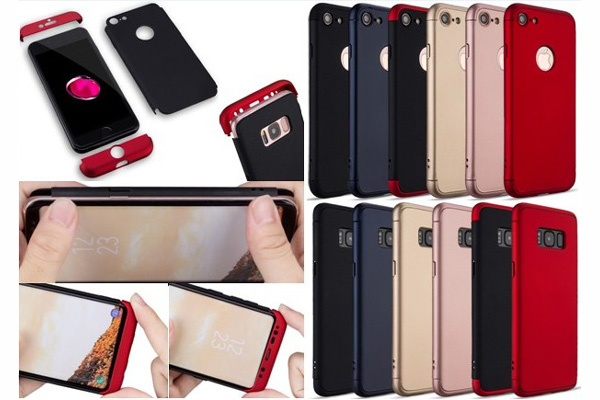 3 in 1 front and back full cover case