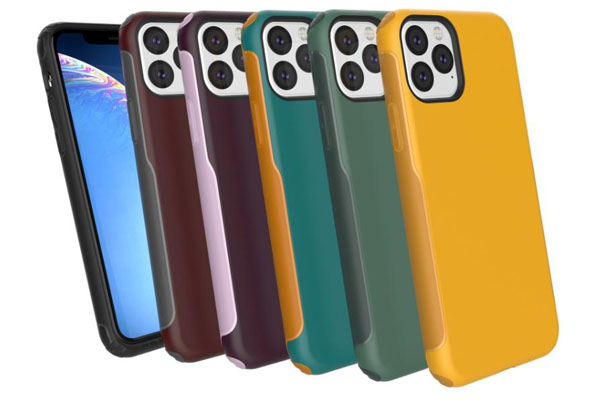 Slim Hybrid Case for New iPhone 5.8'' 6.1'' 6.5''  2019
