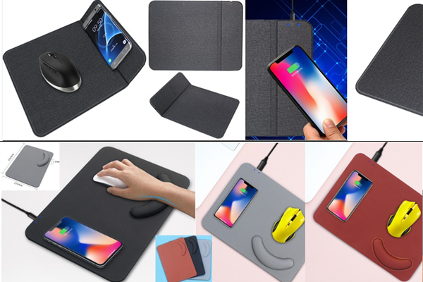 Multi-Function Mousepad Wireless Charger