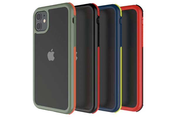 Dual Color Hybrid Matte Transparent Case