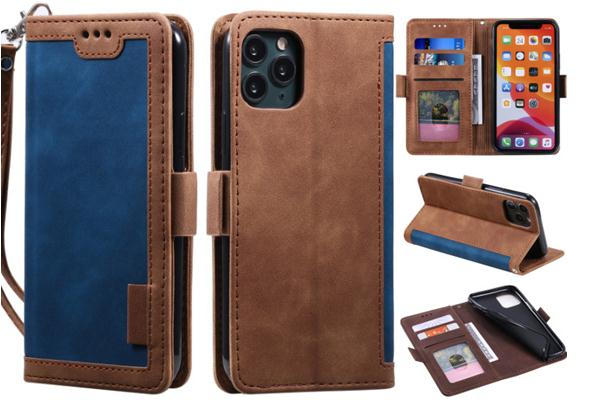Dual Color Magnetic Buckel Folio Cover