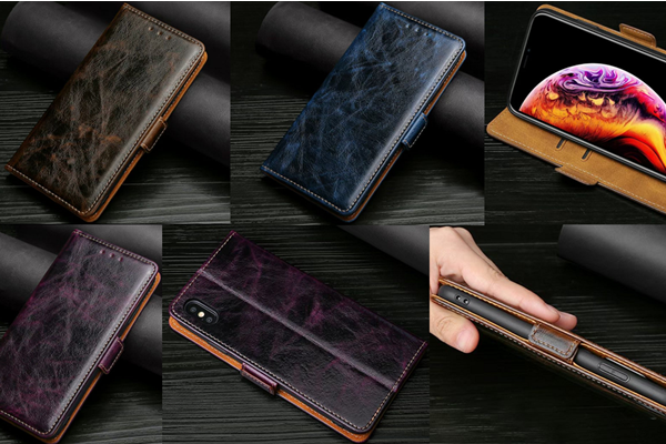 New 2020 Luxury Wallet Leather Cover